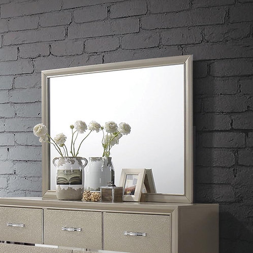 Cali Beaumont Transitional Glam Champagne Mirror