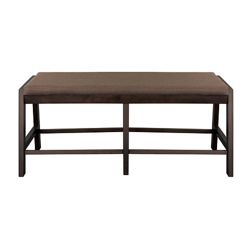 Compson Henry Natural Finish Counter Height Bench