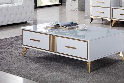 653 AE White Coffee Table