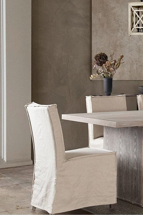 Sonoma Dream Sand Linen Dining Chair