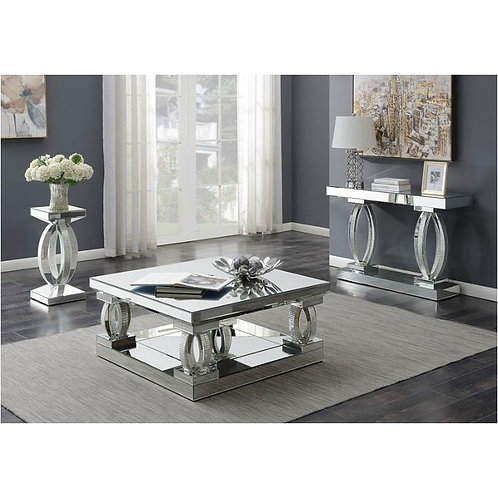 Avonlea Cali Occasional Table Mirrored