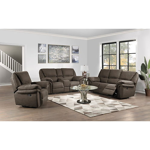 Emeral Allyn Gray Power Motion Sofa w/USB Outlet