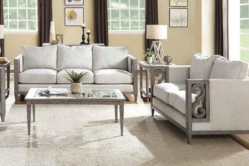 Artesia All Sofa Fabric & Salvaged Natural