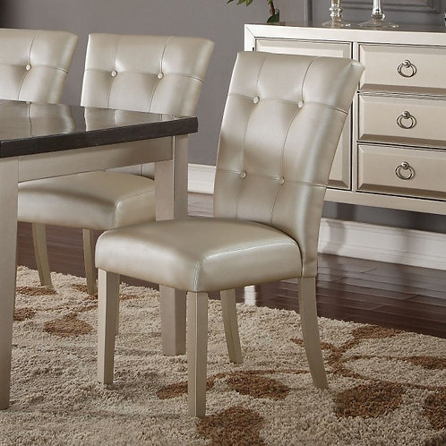 Voeville All Platinum Side Chair