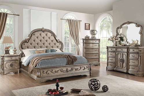 Northville All Bed PU & Antique Silver
