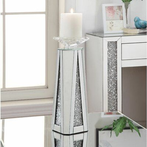 97618 All Mirrored Candle Holder