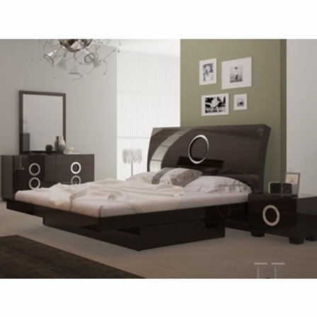 Monte Carlo Wenge lacquer finish Bed