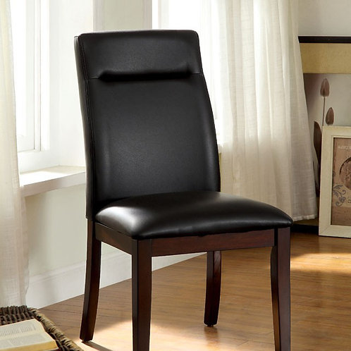 Lawrence Imprad Leatherett Dark Cherry Chair