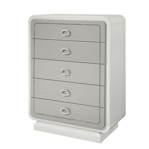 Allendale All Chest Ivory & Latte High Gloss