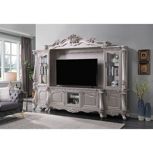 All Bently Champagne Finish Entertainment Center