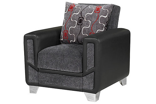 Diva Conrad - Gray Sleeper Chair