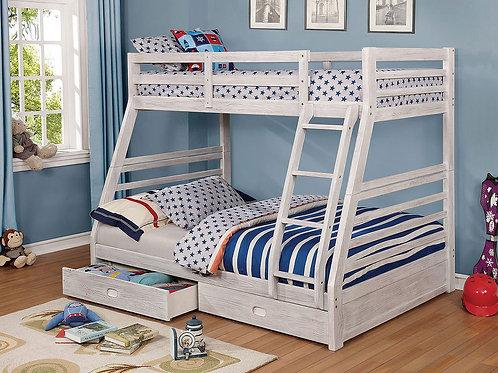 CALIFORNIA III Imprad Twin/Full Bunk Bed w/Storage