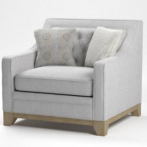 Jeizel Emer Light Gray Chair