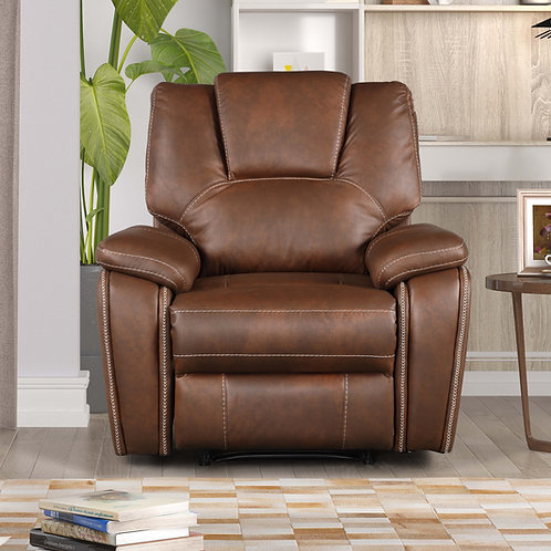8083 Mg Brown Recliner