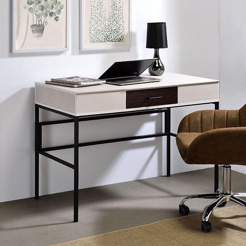 All Verster Natural & Black Finish Writing Desk