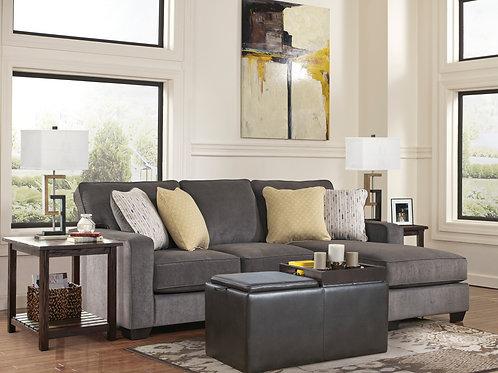 797 Angel Gray Sofa Chaise