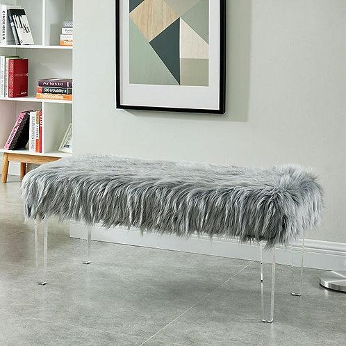 ZYANA Imprad Grey Bench
