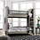 Thumbnail: SASCHA Imprad Twin/Twin Gray Bunk Bed