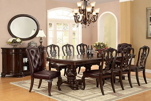 BELLAGIO Imprad Brown Cherry Traditional Table