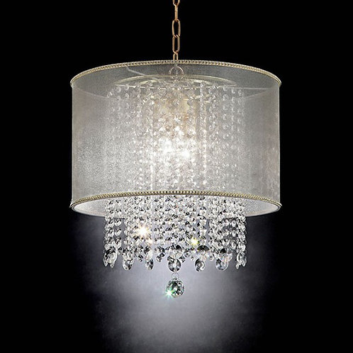 Ana Imprad Gold Crystal Ceiling Lamp