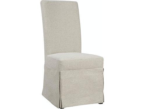 Emeral Parsons Grey Linen Chair