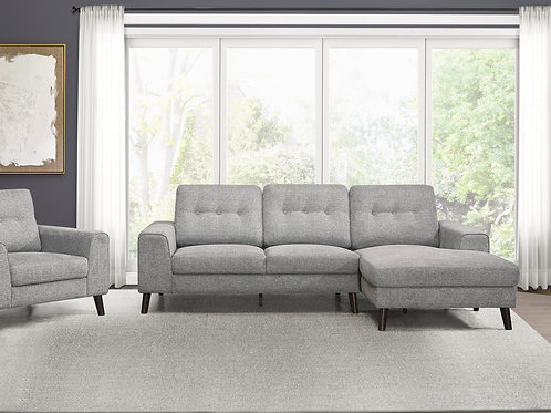 Henry Alexia 2-Piece Sectional with Right Chaise