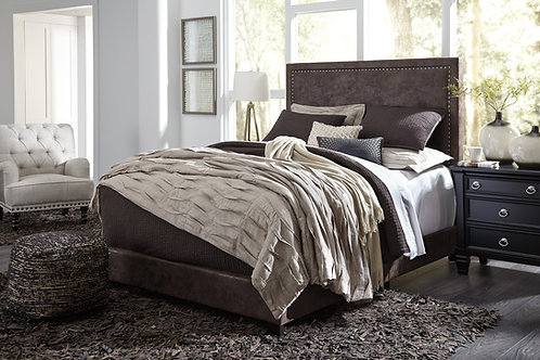 Dolante Angel Faux Leather Upholstery Bed Frame