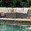 Thumbnail: Cherry Point Angel Contemporary Gray Sectional w/Ottoman