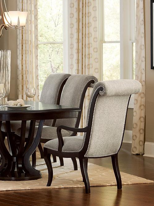 Savion Henry Arm Chair Neutral Tone Fabric