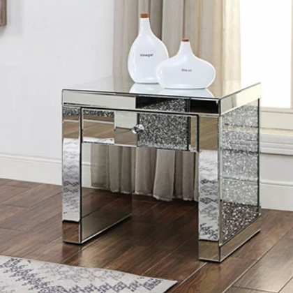 Noralie All 81477 Mirrored End Table