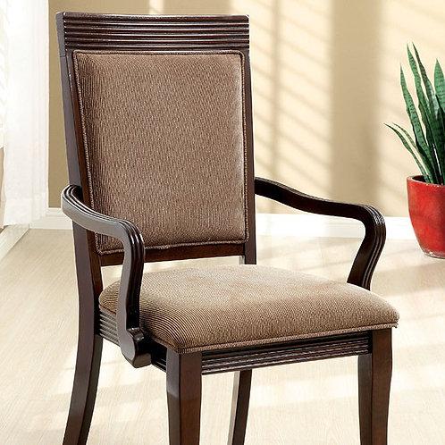 WOODMONT Imprad Walnut Dining Arm Chair
