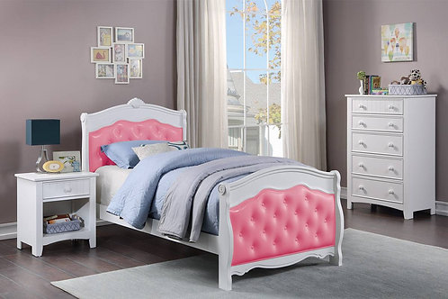 White/Pink Bed Port 9583