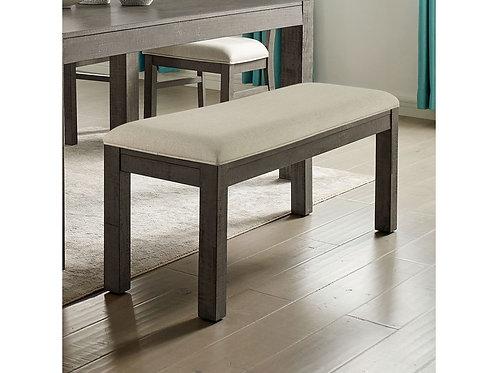 CLARY Imprad Beige Fabric Bench