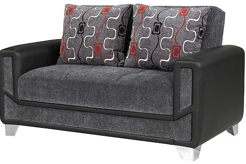 Diva Conrad – Gray Loveseat Sleeper