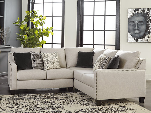 Hallenberg Angel Polyester Sectional