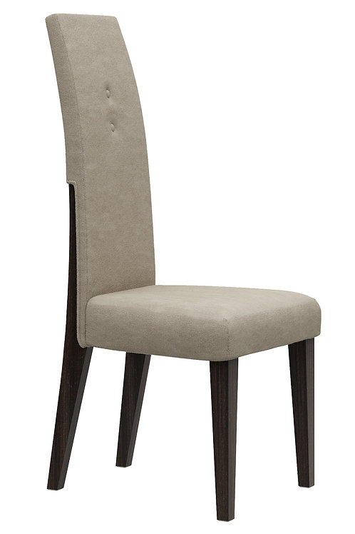 832 Geo Wenge Dining Chair Modern