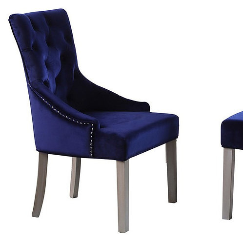 T1803 Best Blue Velour Chair