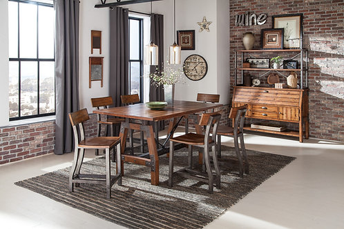 Holverson Henry Rustic Brown Counter Table