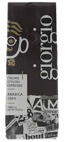 GIORGIO - CAFFE' IN GRANI 1KG / 1000GR
