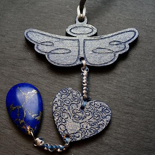 Angelic Mala Large -Indigo