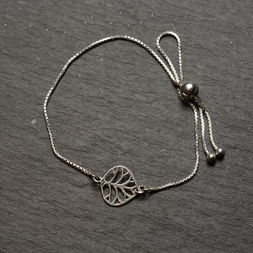 Filigree Leaf Bracelet