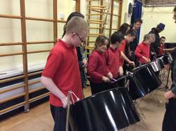 steel drum workshop