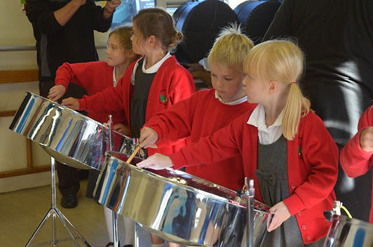 steeldrum workshop for school
