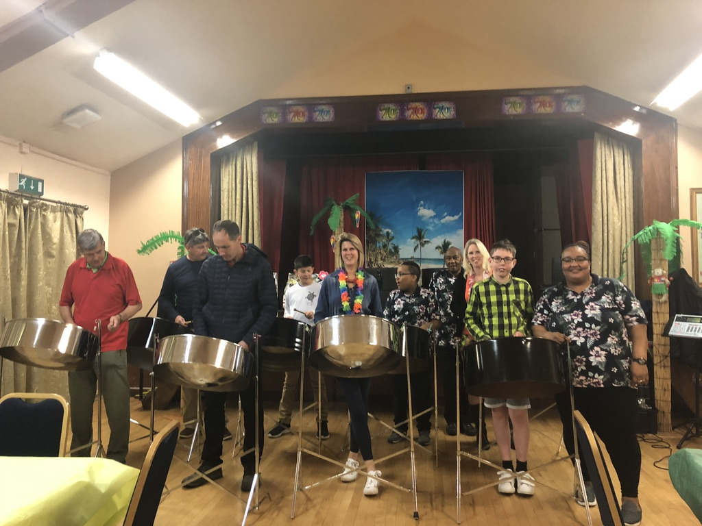 Steeldrum workshop for Birthday