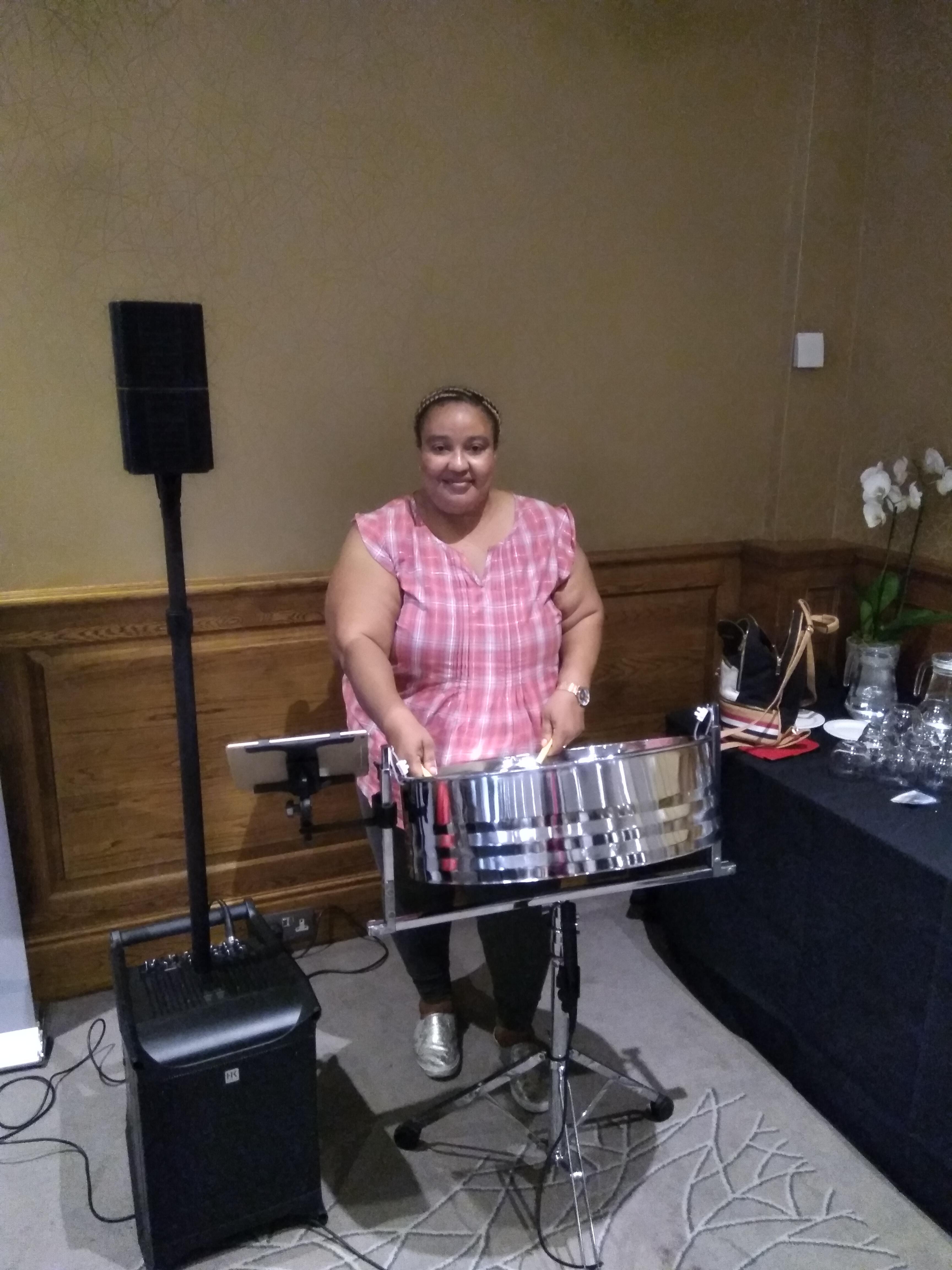 steeldrum soloist