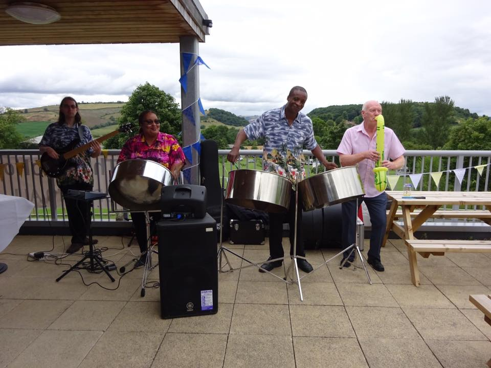 steel band trio for wedding