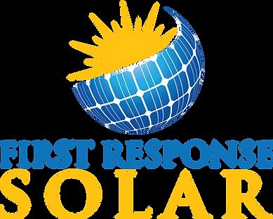 First Response Solar Logo
