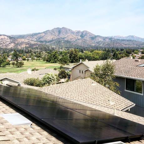 Santa Rosa Solar Installation