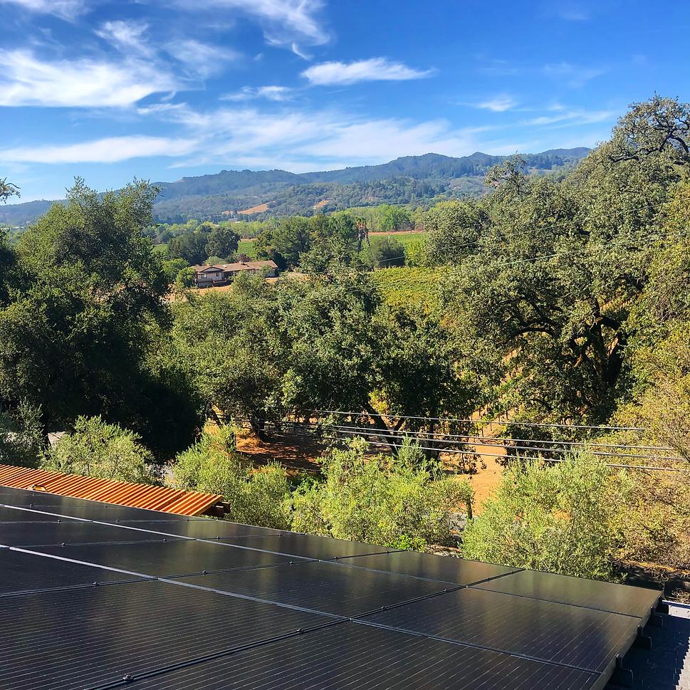 Cloverdale Solar Installation