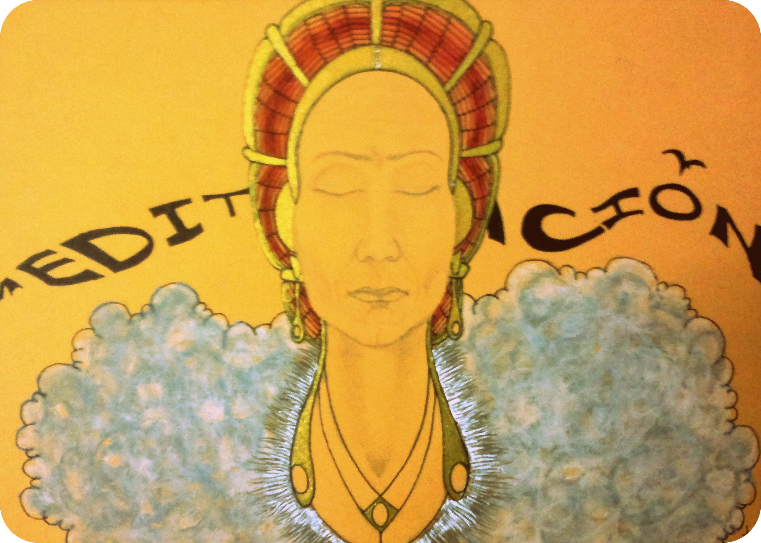 Meditación.30x21.2012
